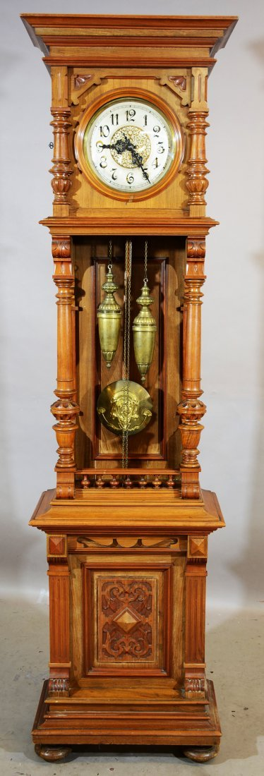Gustav Becker German Grandfather Clock