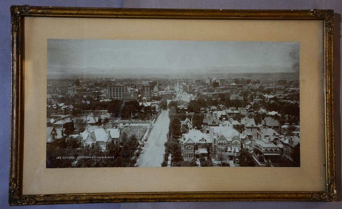 Early Photo of Denver, Colorado