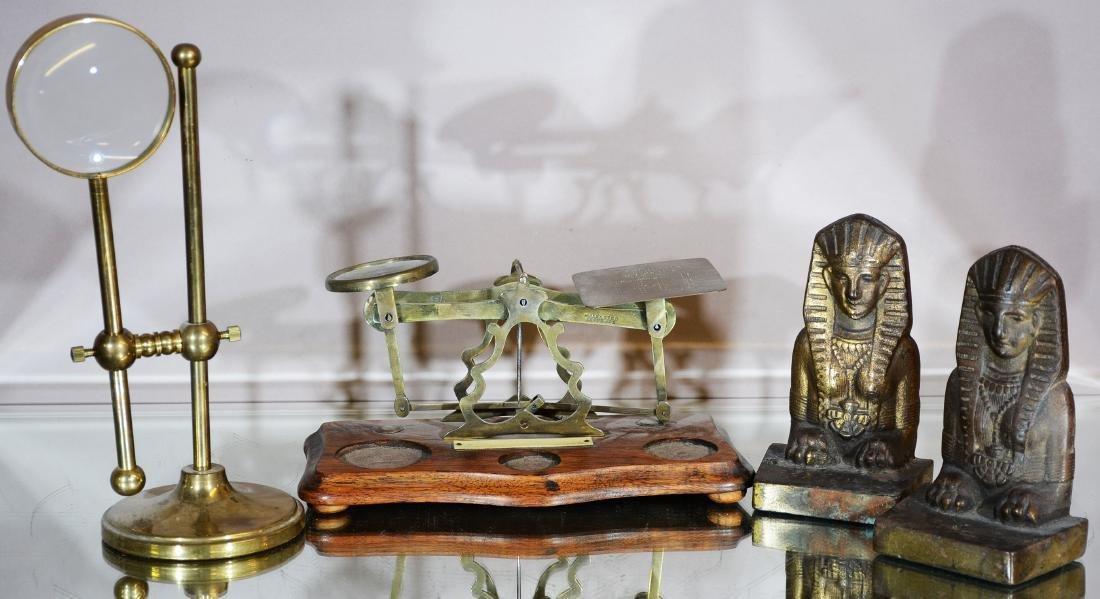 Three Antique Metal Pieces