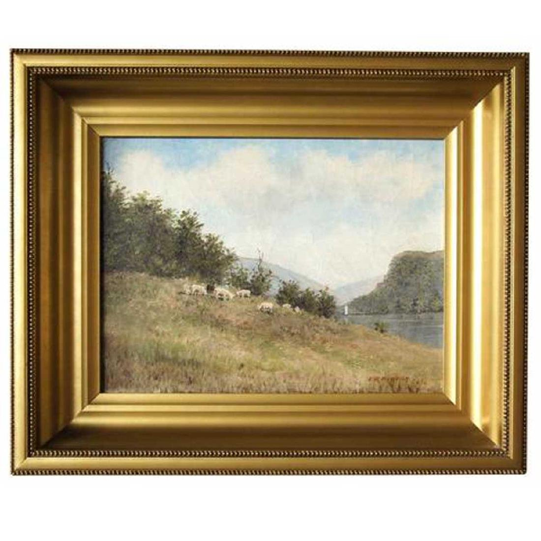 EDWARD ROMAINE BOWDISH Oil on Canvas Painting
