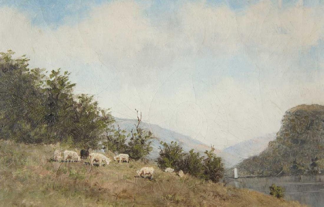 EDWARD ROMAINE BOWDISH Oil on Canvas Painting - 2