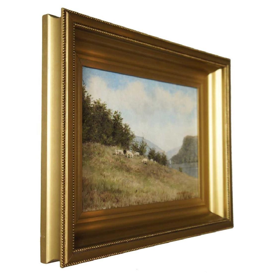 EDWARD ROMAINE BOWDISH Oil on Canvas Painting - 4