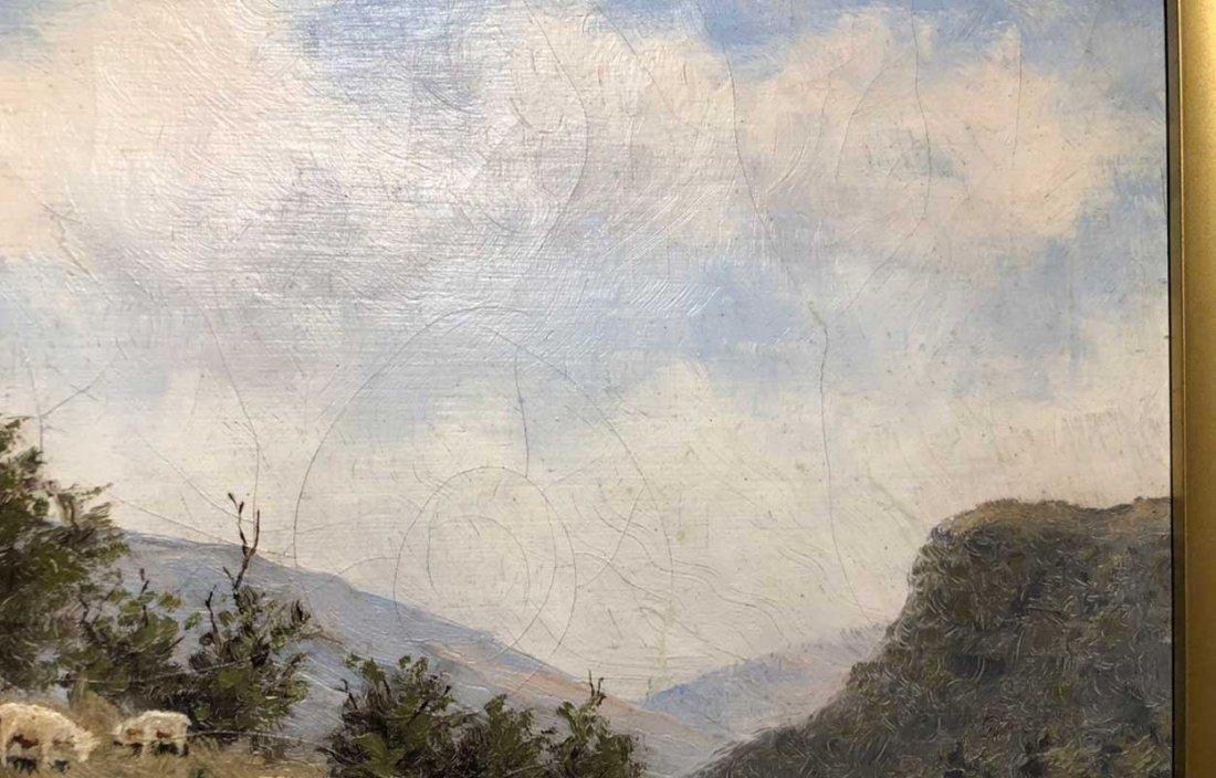 EDWARD ROMAINE BOWDISH Oil on Canvas Painting - 6