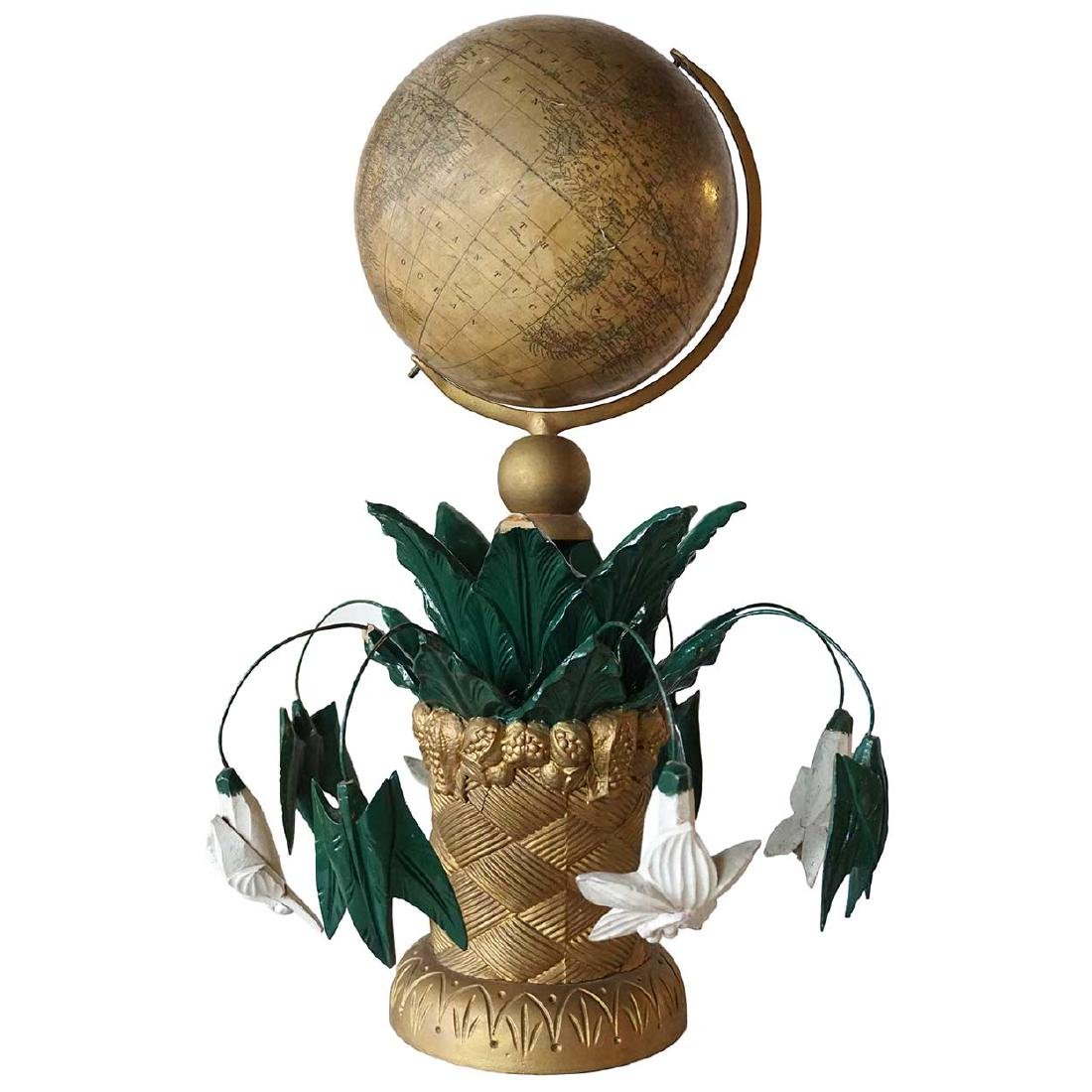 American Victorian Moore & Nims Terrestrial Globe