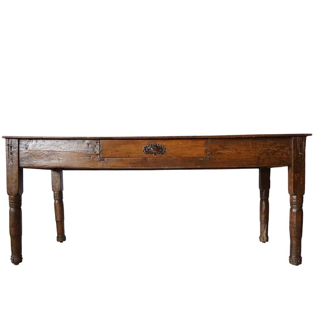 Mexican Pine Dining or Kitchen Work Table