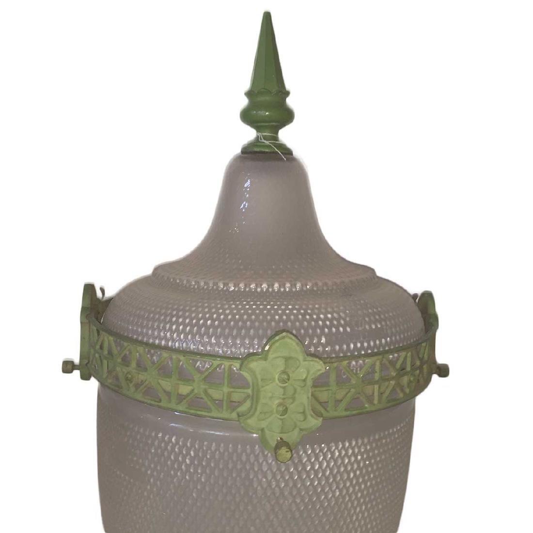 Large American Glass Street Lamp Shade - 2