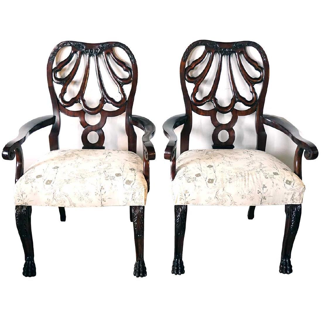 Pair of American Ralph Lauren Armchairs