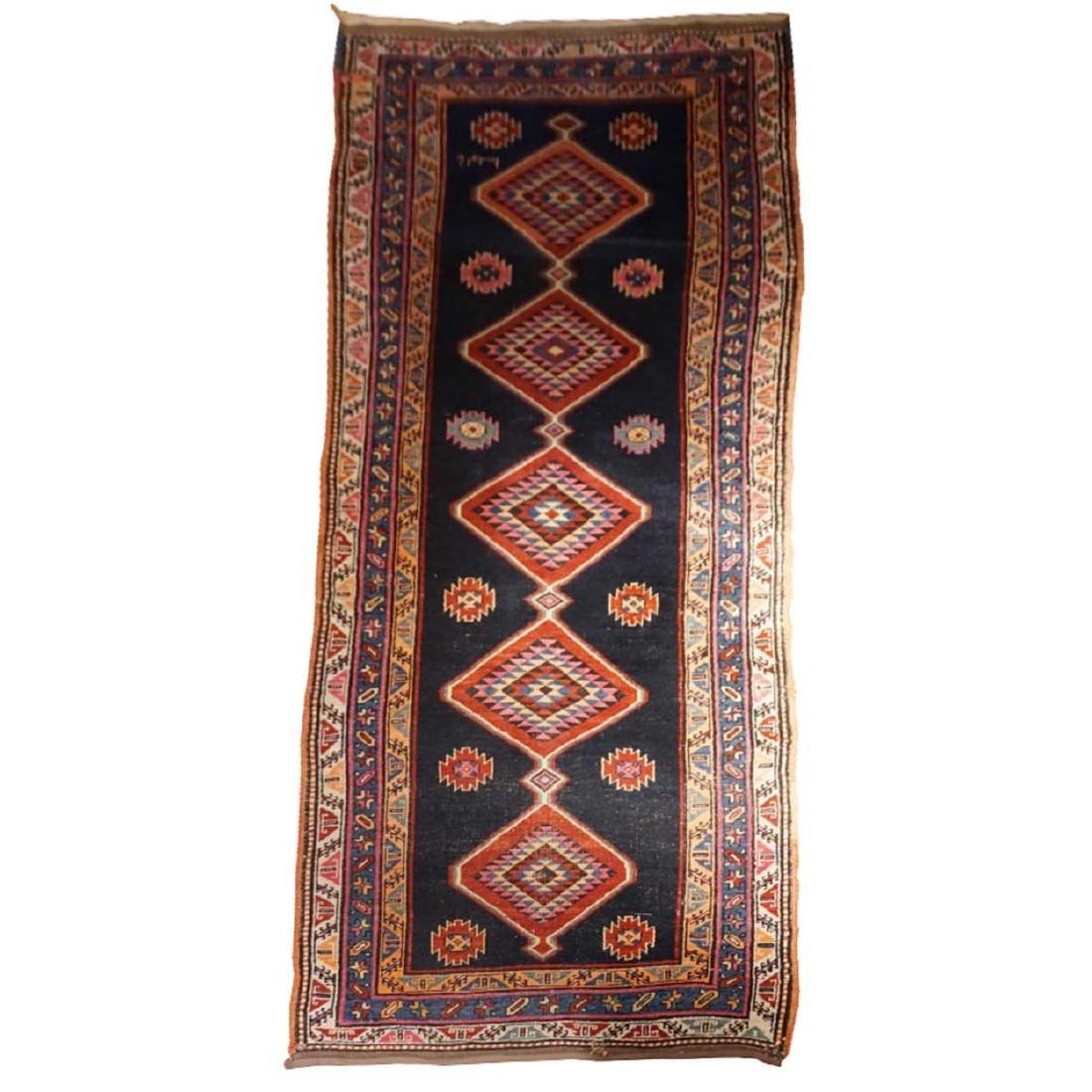 Long Persian Karabagh/Karabakh Runner Carpet