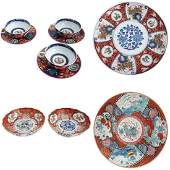 7 Pieces Japanese Porcelain Imari Porcelain Tableware