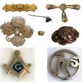 Seven Vintage and Antique Jewelry Pins
