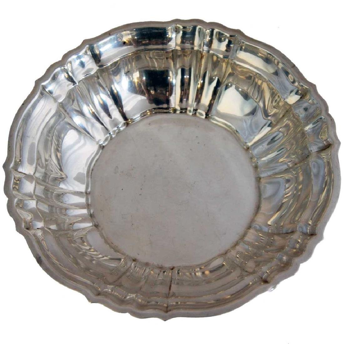 American Gorham Sterling Silver Chippendale Bowl