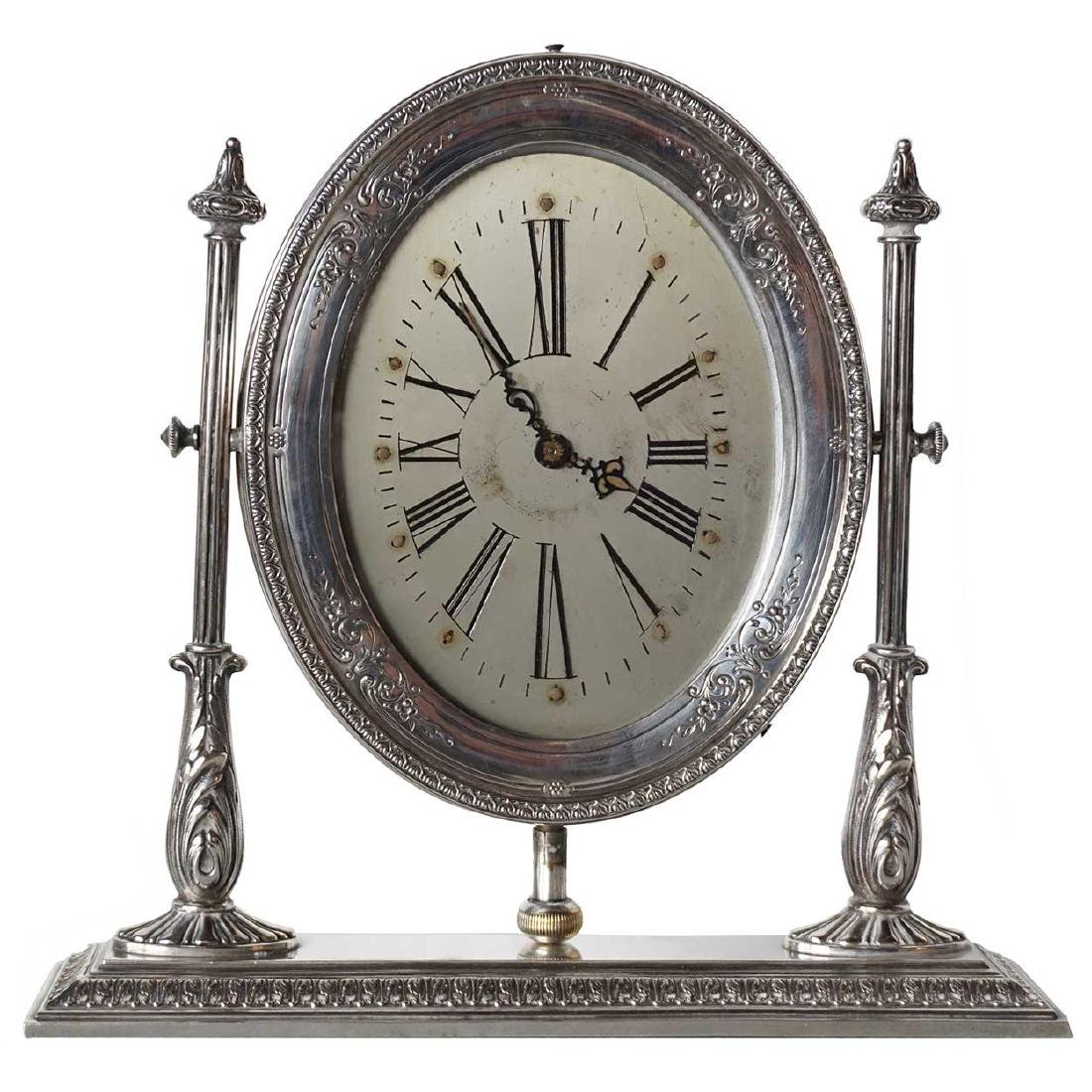 American Reed & Barton Sterling Silver Waltham Clock
