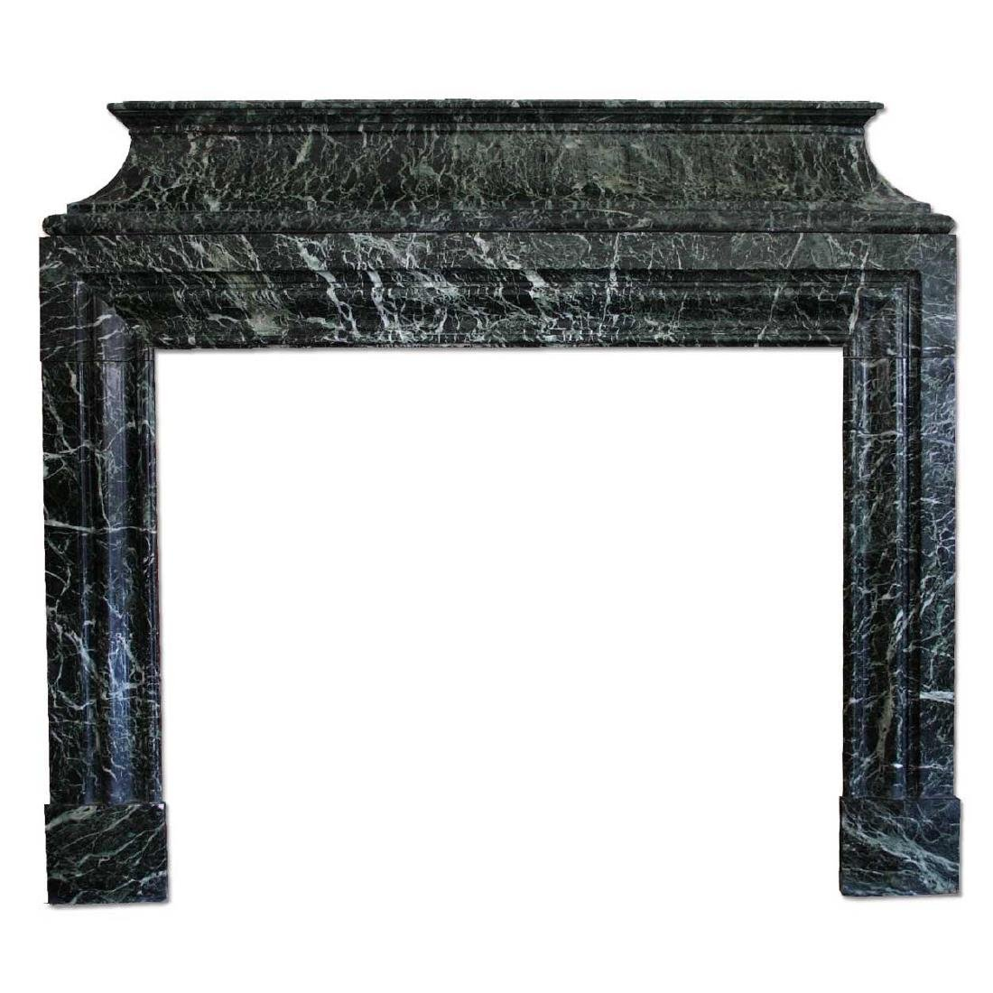 French Jules Cantini Louis XIV Fireplace Surround