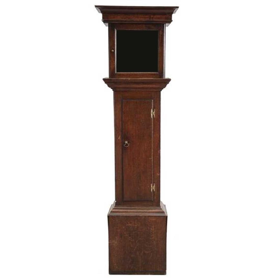 English George III Oak Grandfather Clock Case