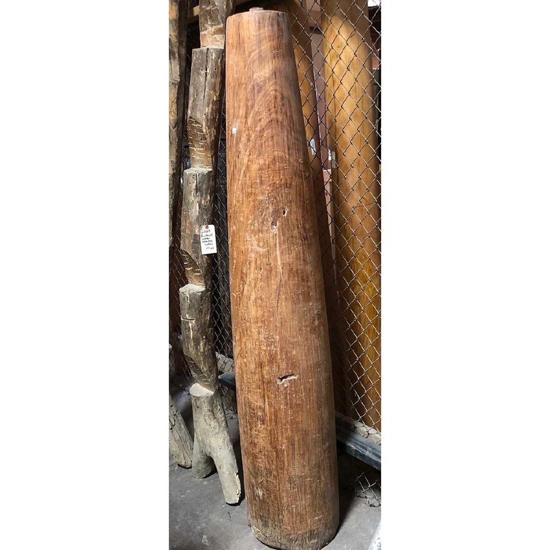 Indian Solid Satinwood Architectural Pillar