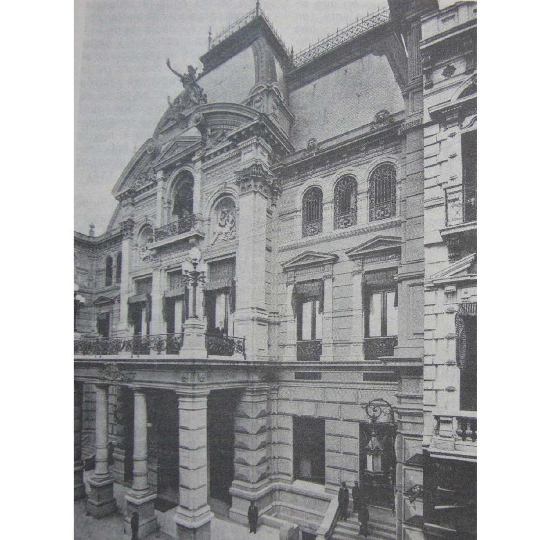 Argentine Jockey Club of Buenos Aires Oak Door Lintel - 7