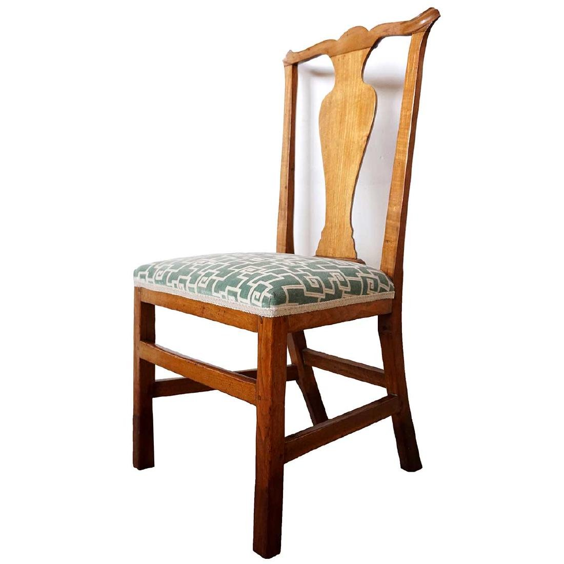 American New England Chippendale Mahogany Chair