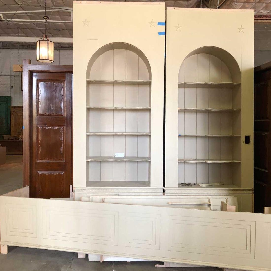 American Georgian Style Built-In Cabinets and Paneling