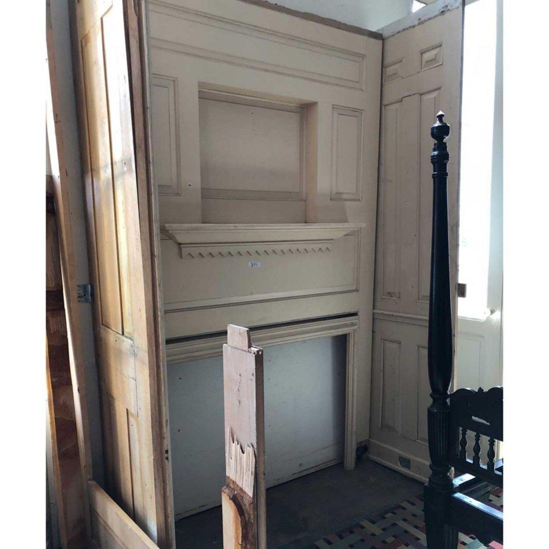 American Belcaro Mansion Fireplace & Paneling - 2