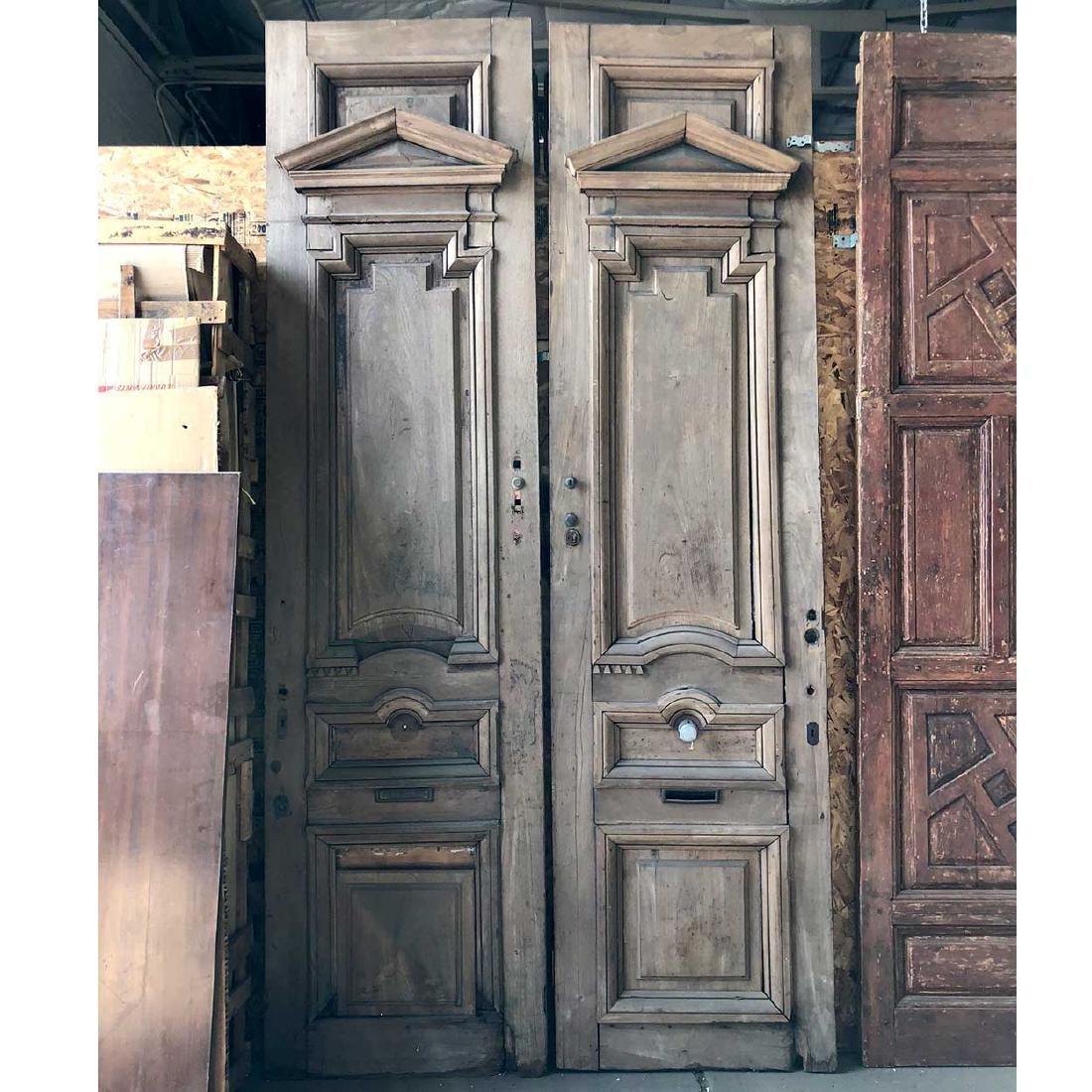 French Monumental Napoleon III Double Door