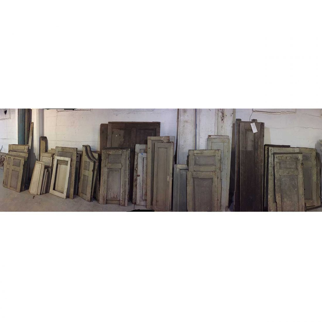 Lot of American New England Paneling