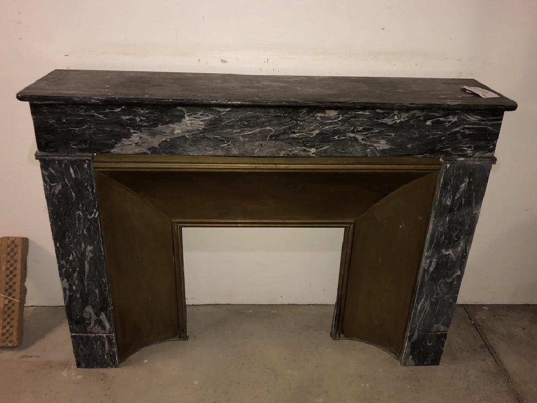 French Empire Marble Fireplace Surround - 2