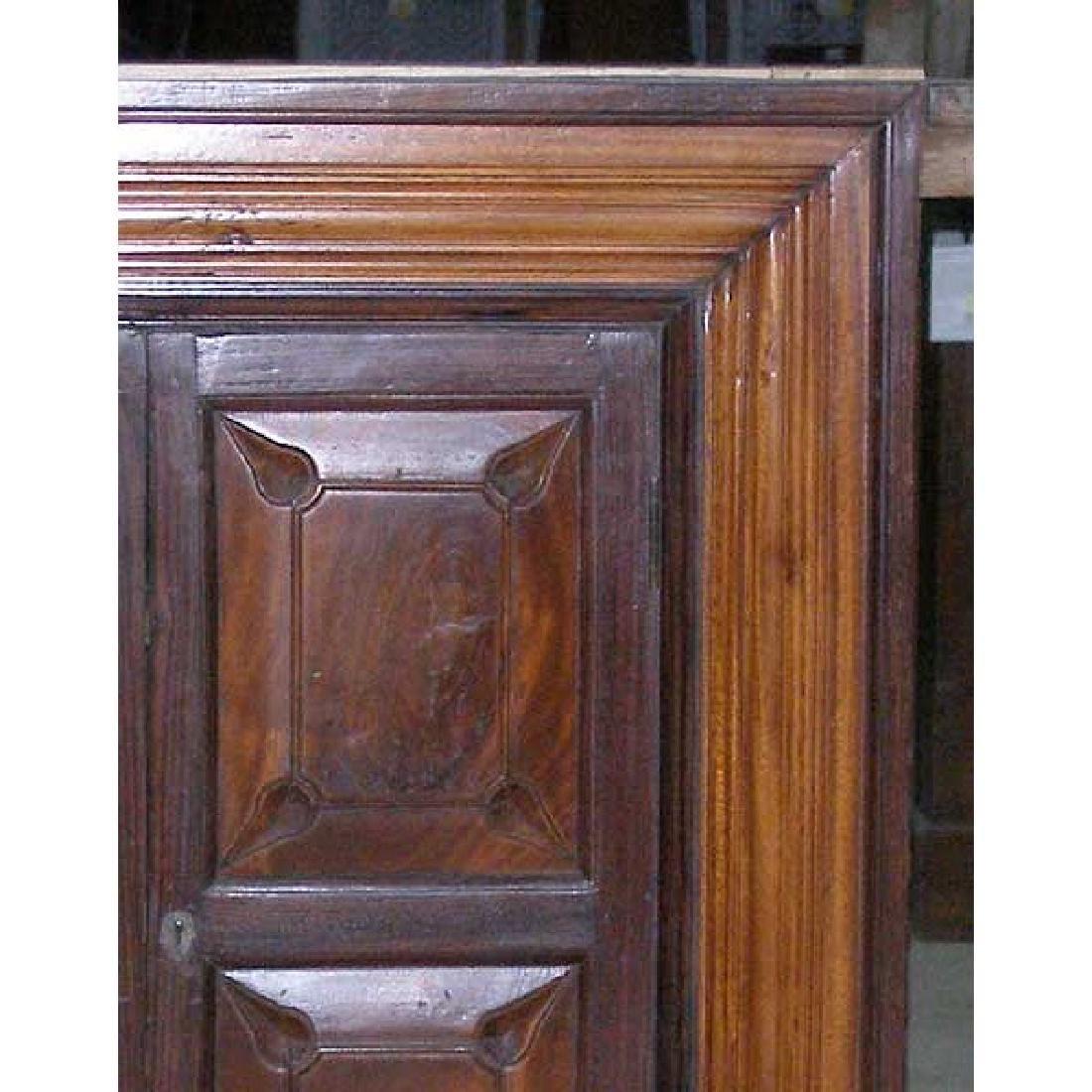 Indian Goan Rosewood & Satinwood Wall Cabinet - 2