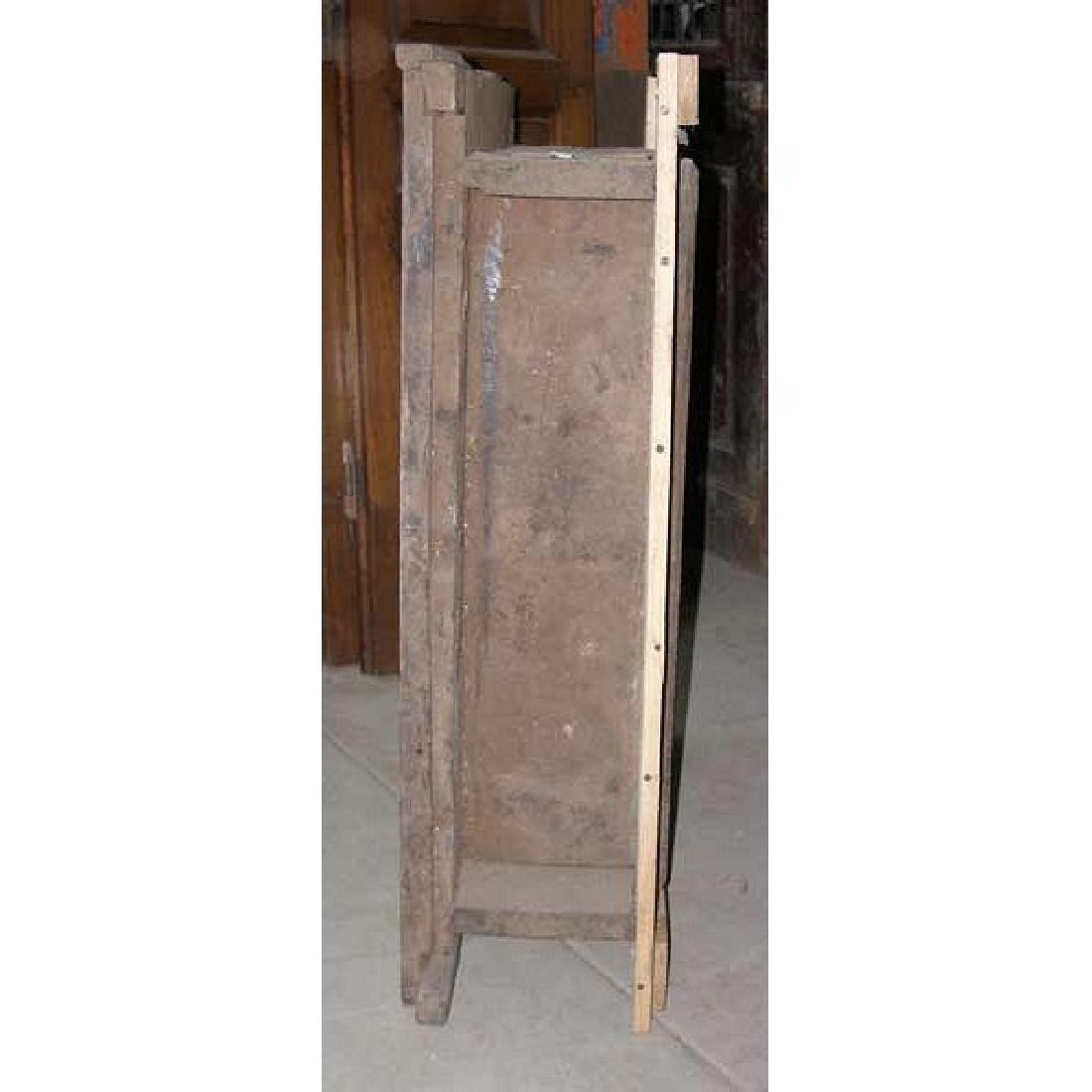 Indian Goan Rosewood & Satinwood Wall Cabinet - 5