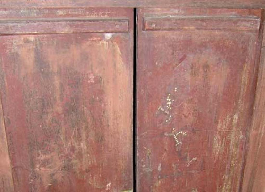 Pair Indo-Portuguese Painted Double Shutter Windows - 5