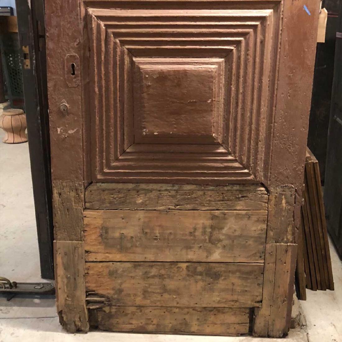 Portuguese Pine Arched Single Door - 3