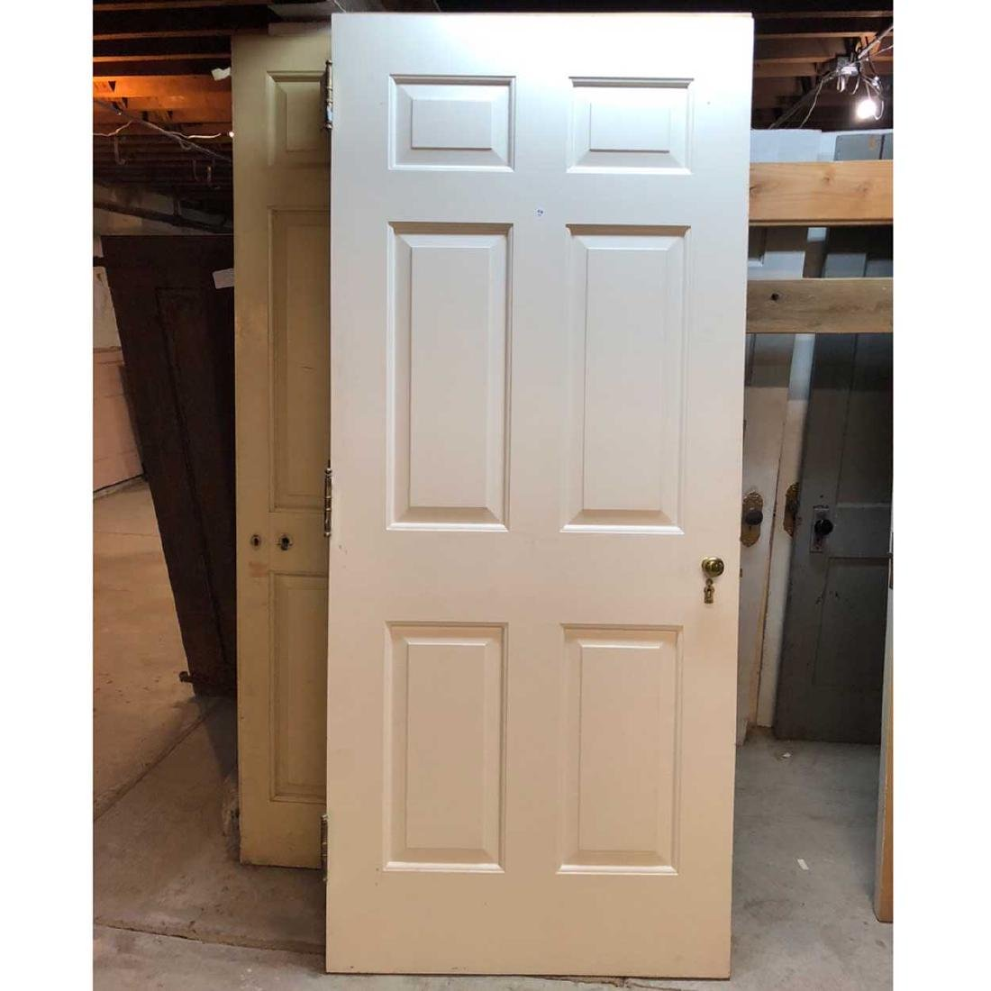 4 American Georgian Style Single Doors