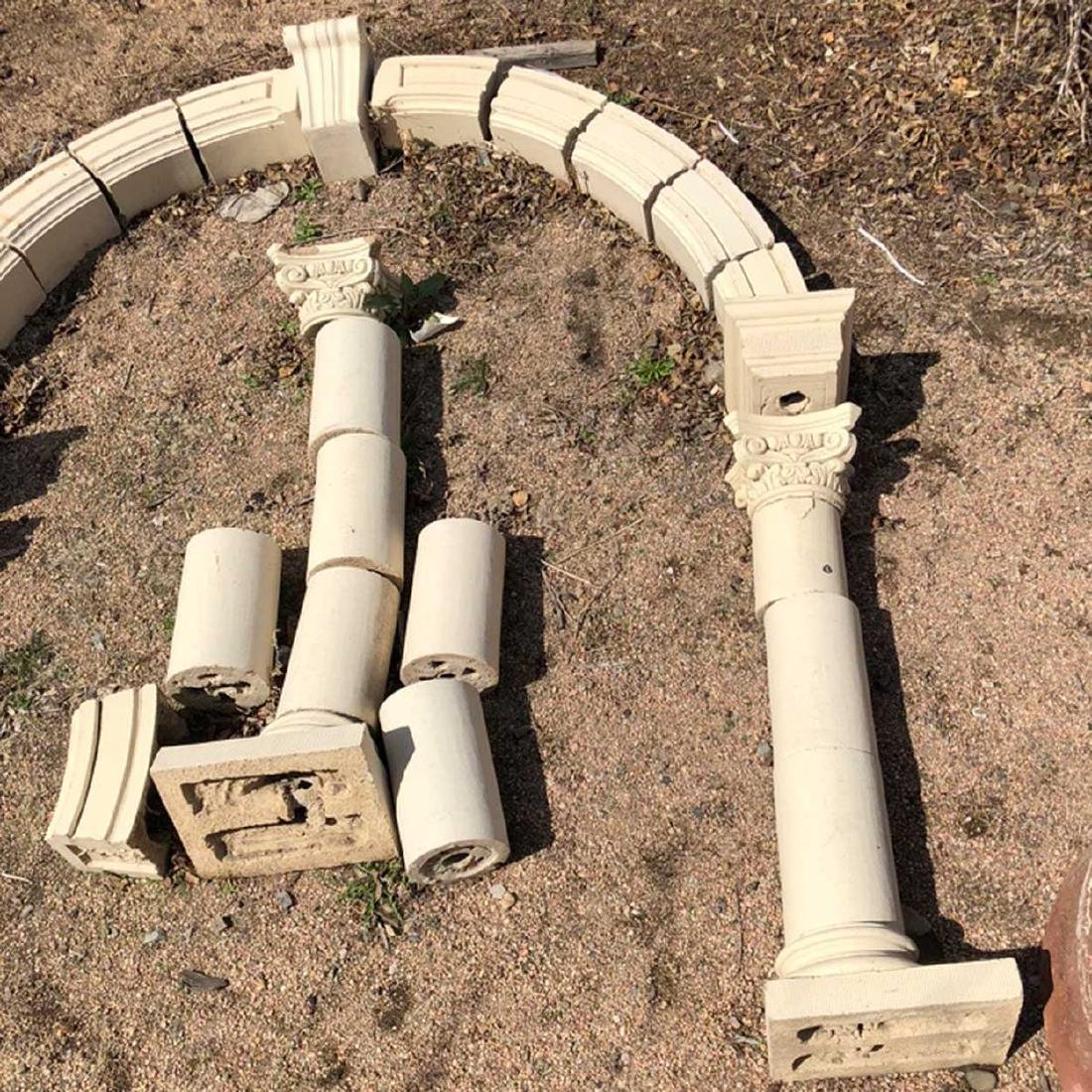 American Terracotta Architectural Bell Tower Arch - 3