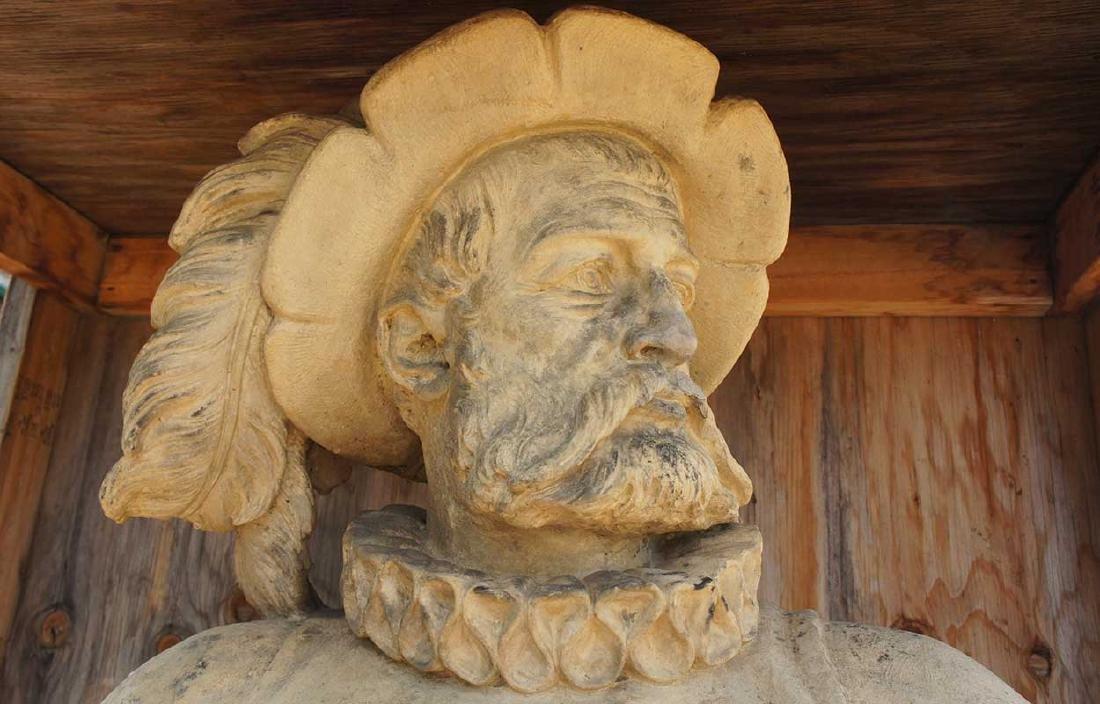 Important Pair ALEXANDER CALANDRELLI Lansquenet Statues - 6