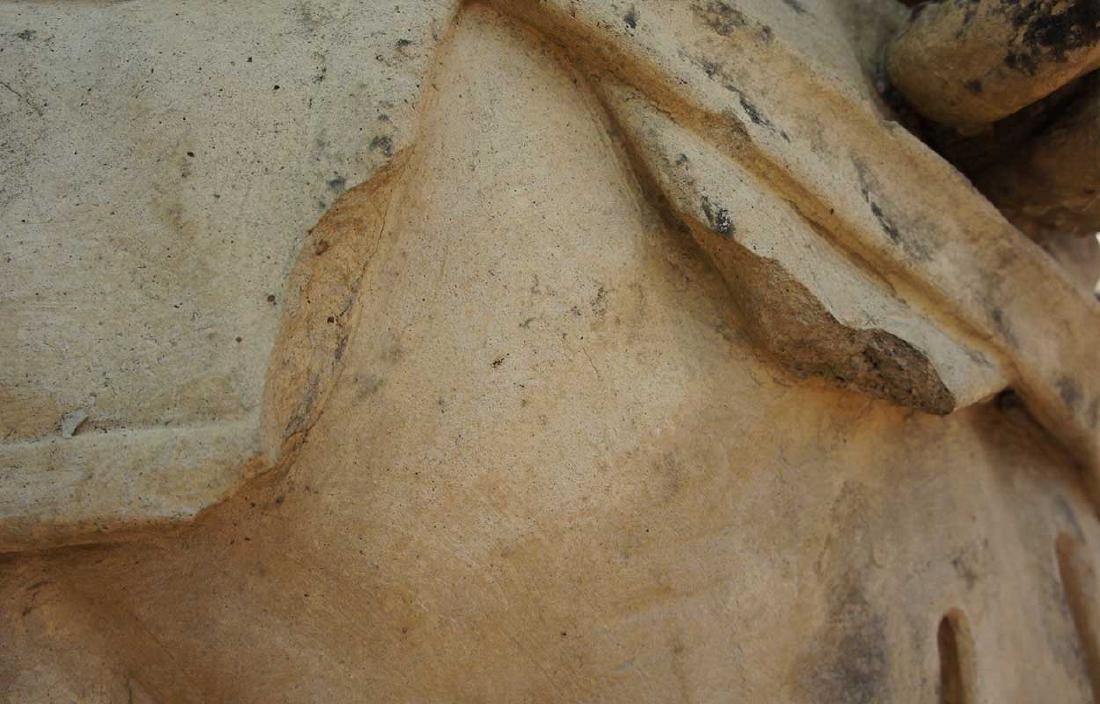 Important Pair ALEXANDER CALANDRELLI Lansquenet Statues - 7