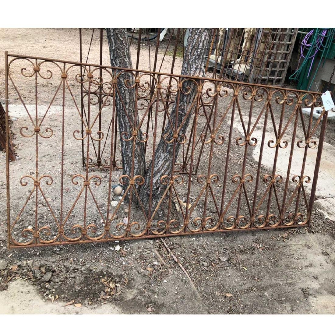 Spanish Wrought Iron Window Grille Panel - 2