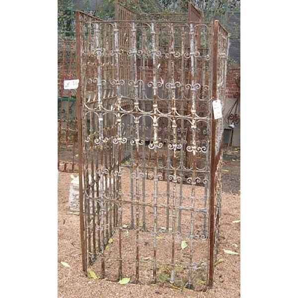 3 Spanish Wrought Iron Window Grilles - 3