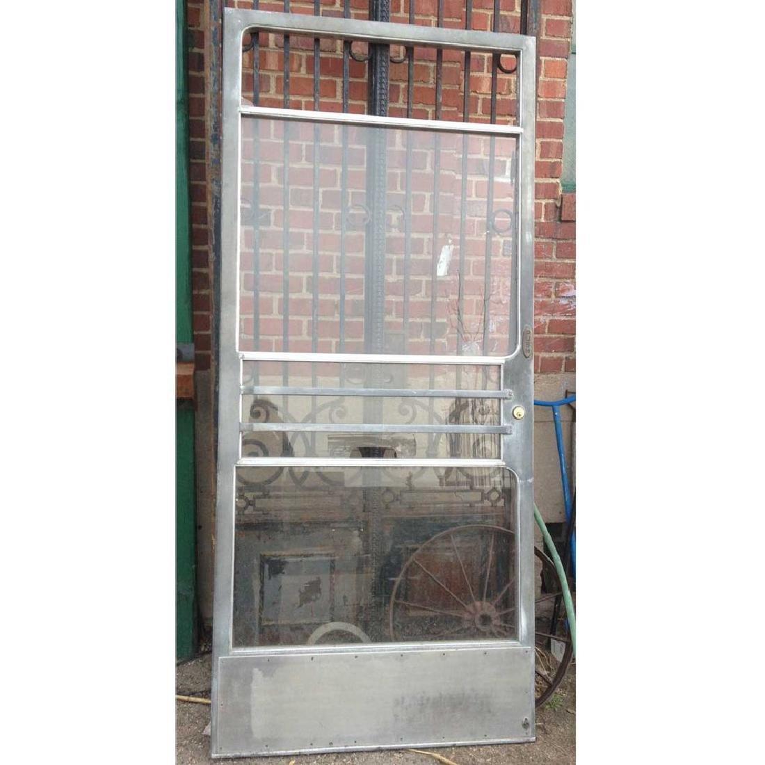 American Rocky Mountain Seed Co. Aluminum Single Door