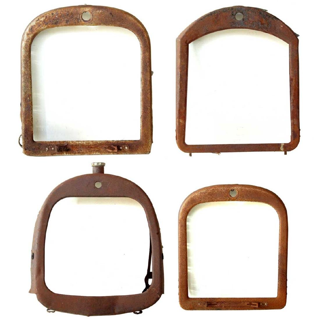 4 Early American Automobile Grille Frames