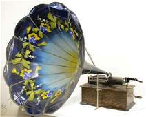 Edison Phonograph in Oak Case