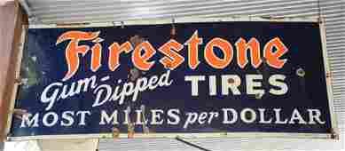 Firestone Tire Sign