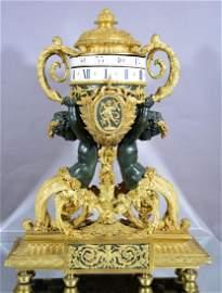 Graux-Manly Freres Louis XVI Mantel Clock