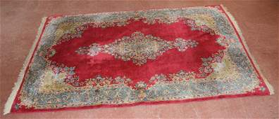 SemiAntique Persian Hand Tied Wool Carpet