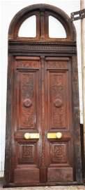 French Louis XVI Oak Entry Door