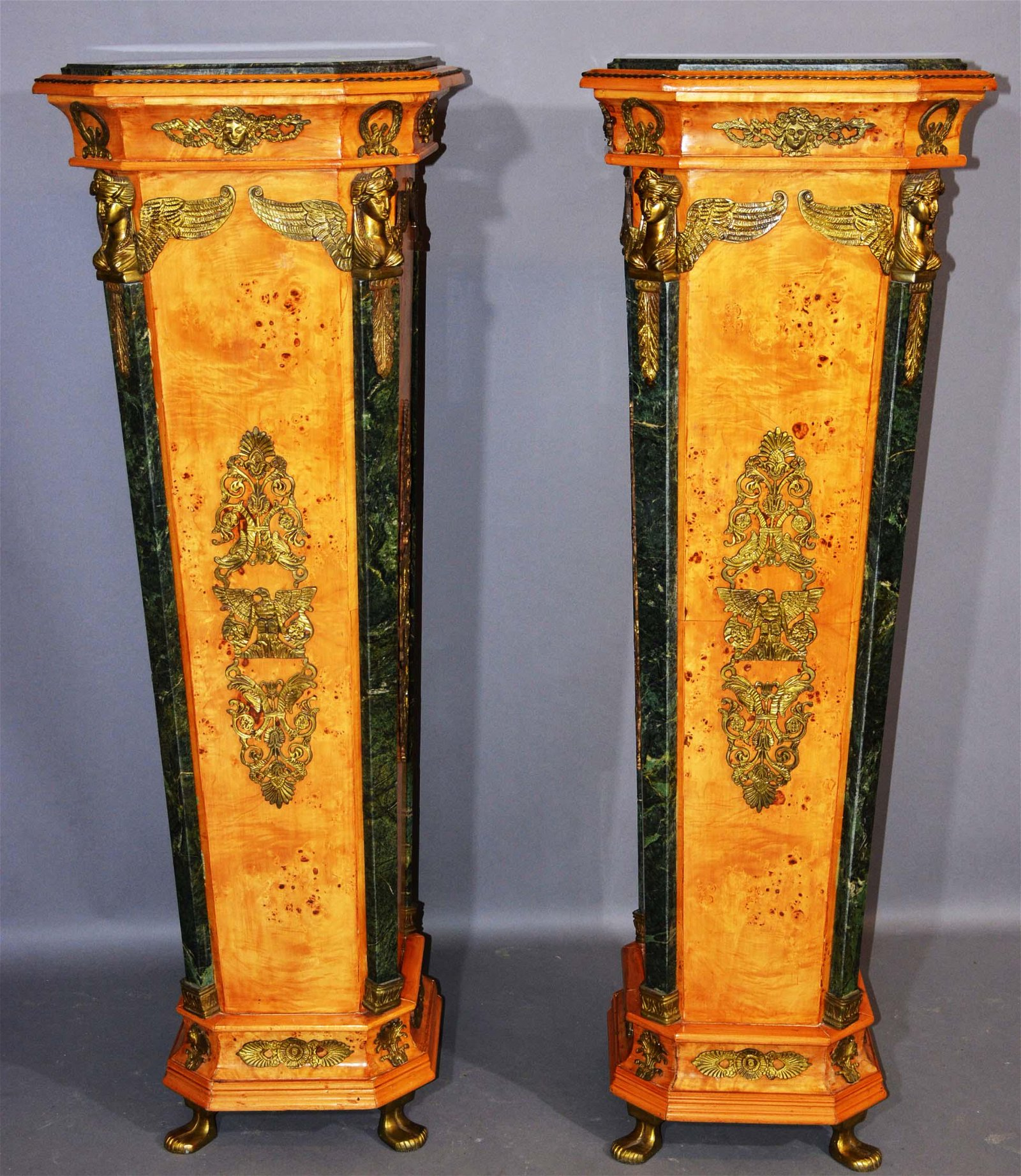 Pair of Italian Renaissance Style Pedestals