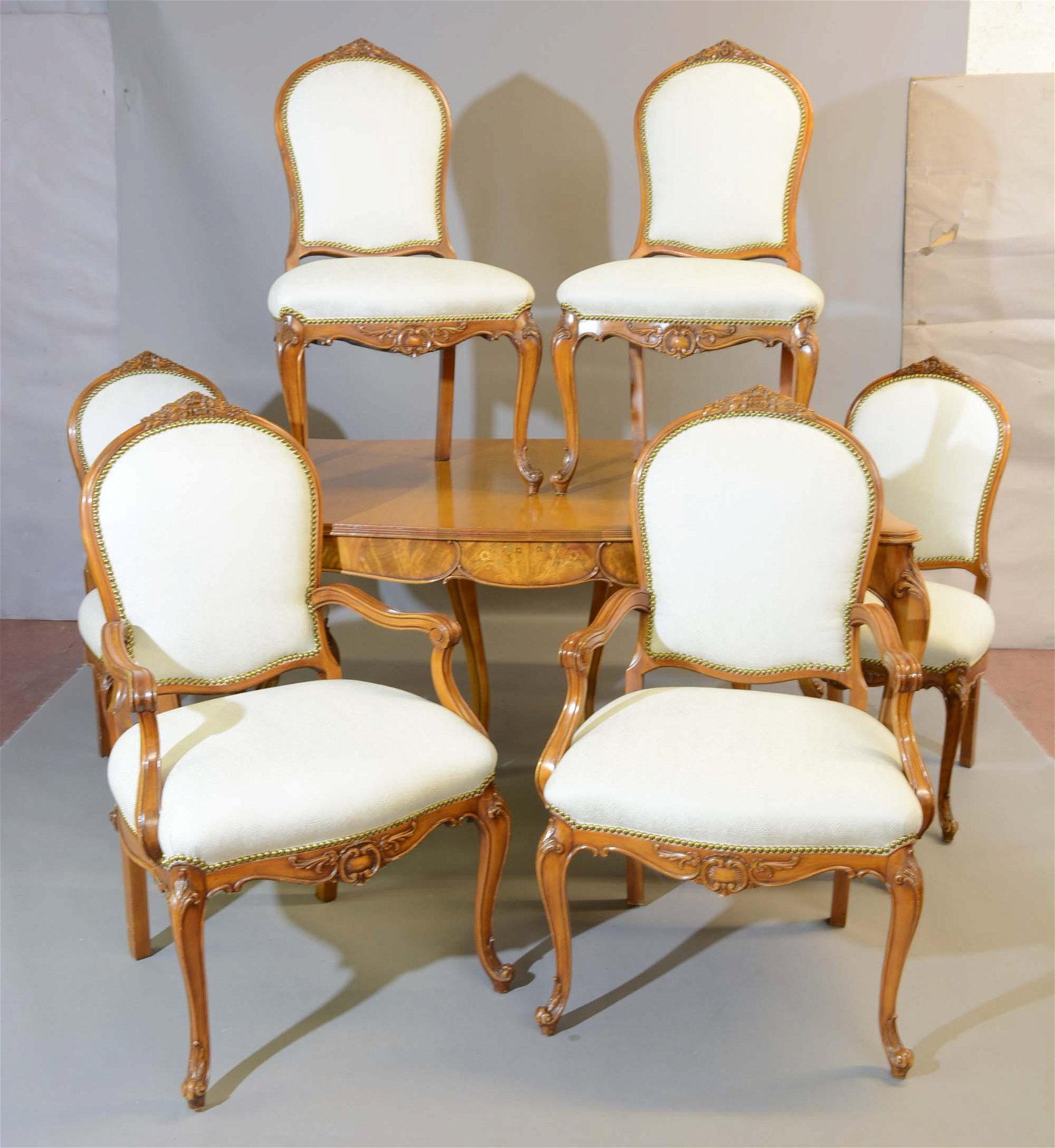 1950's French Louis Style Dinning Room Set