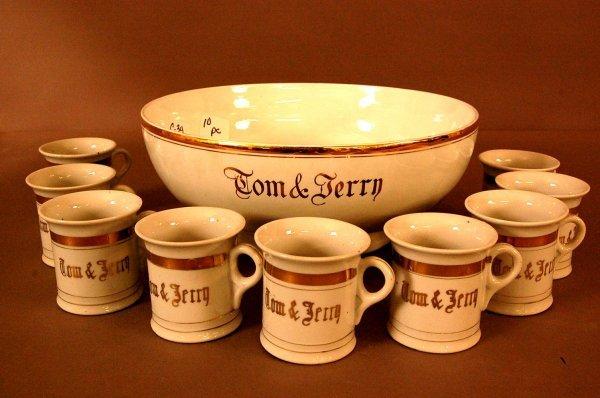 5: Tom & Jerry Punch bowl set