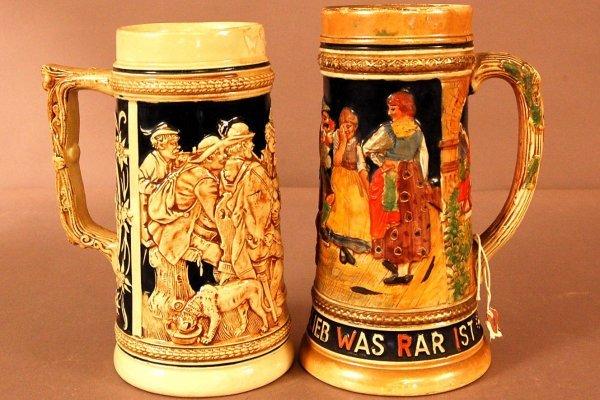 6: German Beer Steins