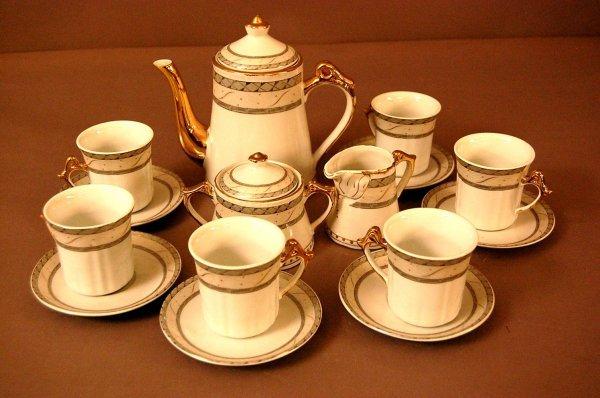 11: Bovary Fine Porcelain Tea Set