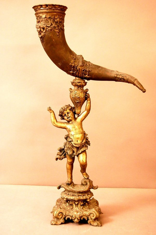 22: Victorian Spelter Mantle Piece