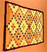 50: Antique fine Navajo blanket weave rug